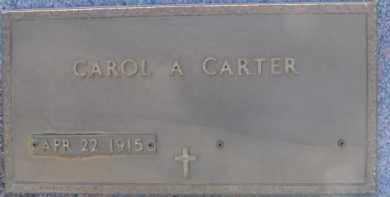 CARTER, CAROL A. - Dixon County, Nebraska   CAROL A. CARTER - Nebraska Gravestone Photos