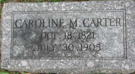 CARTER, CAROLINE M. - Dixon County, Nebraska | CAROLINE M. CARTER - Nebraska Gravestone Photos