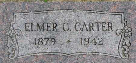 CARTER, ELMER C. - Dixon County, Nebraska | ELMER C. CARTER - Nebraska Gravestone Photos