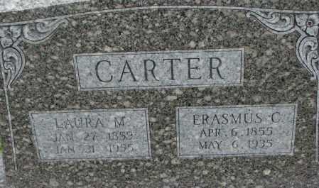 CARTER, LAURA M. - Dixon County, Nebraska | LAURA M. CARTER - Nebraska Gravestone Photos