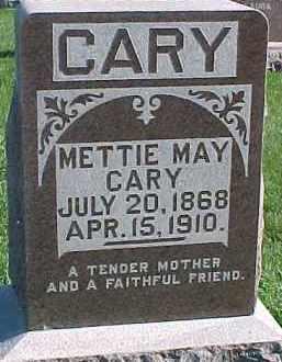CARY, METTIE MAY - Dixon County, Nebraska   METTIE MAY CARY - Nebraska Gravestone Photos