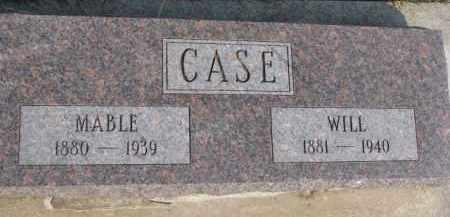 CASE, WILL - Dixon County, Nebraska   WILL CASE - Nebraska Gravestone Photos