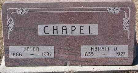CHAPEL, HELEN - Dixon County, Nebraska | HELEN CHAPEL - Nebraska Gravestone Photos