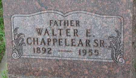 CHAPPELEAR, WALTER E. SR. - Dixon County, Nebraska | WALTER E. SR. CHAPPELEAR - Nebraska Gravestone Photos