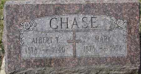 CHASE, MARY - Dixon County, Nebraska | MARY CHASE - Nebraska Gravestone Photos