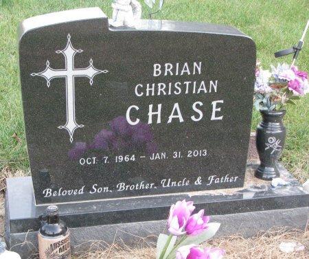 CHASE, BRIAN CHRISTIAN - Dixon County, Nebraska   BRIAN CHRISTIAN CHASE - Nebraska Gravestone Photos