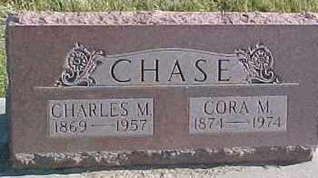 CHASE, CHARLES M. - Dixon County, Nebraska   CHARLES M. CHASE - Nebraska Gravestone Photos