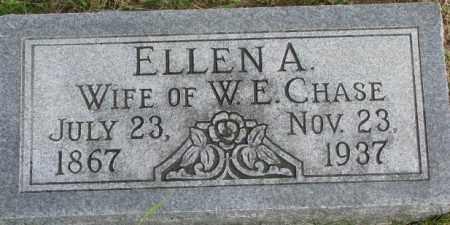 CHASE, ELLEN A. - Dixon County, Nebraska   ELLEN A. CHASE - Nebraska Gravestone Photos