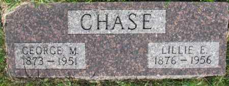 CHASE, GEORGE M. - Dixon County, Nebraska | GEORGE M. CHASE - Nebraska Gravestone Photos