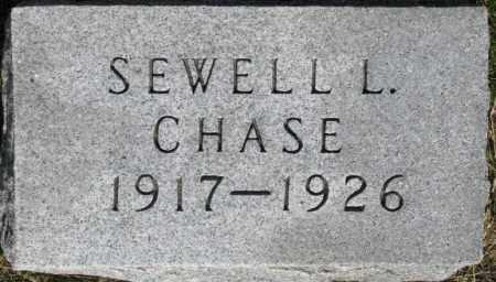 CHASE, SEWELL L. - Dixon County, Nebraska | SEWELL L. CHASE - Nebraska Gravestone Photos
