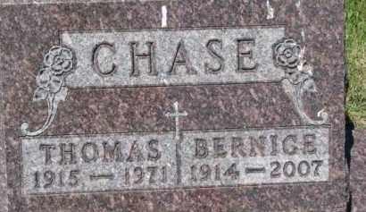 CHASE, THOMAS - Dixon County, Nebraska | THOMAS CHASE - Nebraska Gravestone Photos