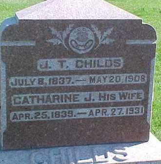 CHILDS, J.T. - Dixon County, Nebraska | J.T. CHILDS - Nebraska Gravestone Photos