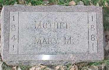 CHILDS, MARY M. - Dixon County, Nebraska | MARY M. CHILDS - Nebraska Gravestone Photos