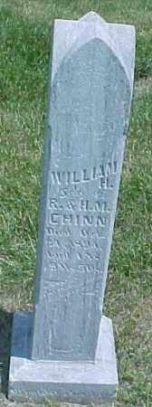CHINN, WILLIAM H - Dixon County, Nebraska | WILLIAM H CHINN - Nebraska Gravestone Photos
