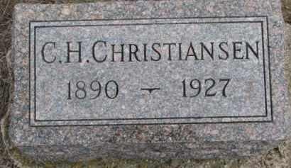 CHRISTIANSEN, C.H. - Dixon County, Nebraska | C.H. CHRISTIANSEN - Nebraska Gravestone Photos