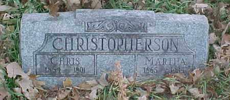 CHRISTOPHERSON, MARTHA - Dixon County, Nebraska   MARTHA CHRISTOPHERSON - Nebraska Gravestone Photos