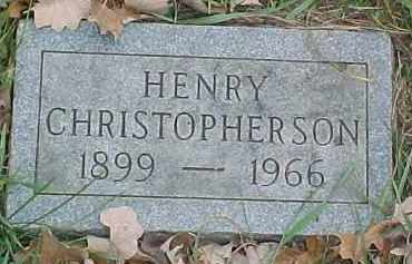 CHRISTOPHERSON, HENRY - Dixon County, Nebraska | HENRY CHRISTOPHERSON - Nebraska Gravestone Photos