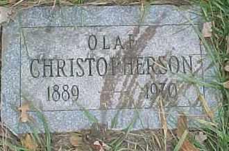 CHRISTOPHERSON, OLAF - Dixon County, Nebraska | OLAF CHRISTOPHERSON - Nebraska Gravestone Photos