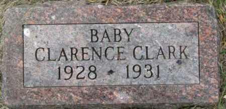 CLARK, CLARENCE - Dixon County, Nebraska   CLARENCE CLARK - Nebraska Gravestone Photos
