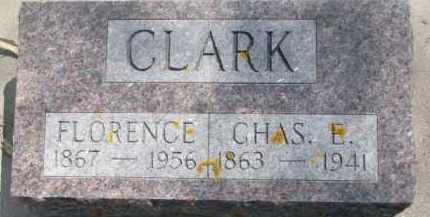 CLARK, FLORENCE - Dixon County, Nebraska   FLORENCE CLARK - Nebraska Gravestone Photos