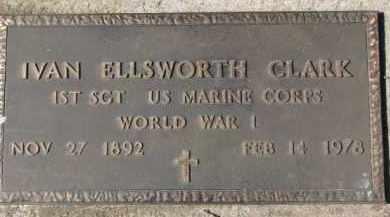 CLARK, IVAN ELLSWORTH - Dixon County, Nebraska | IVAN ELLSWORTH CLARK - Nebraska Gravestone Photos