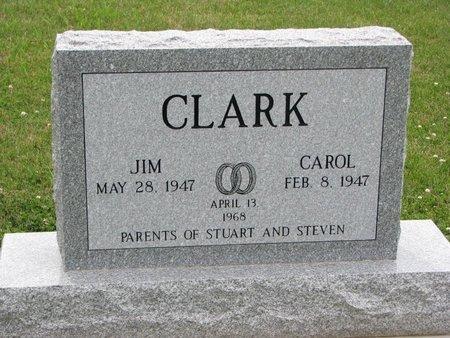 CLARK, JIM - Dixon County, Nebraska   JIM CLARK - Nebraska Gravestone Photos