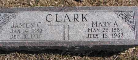 CLARK, MARY A. - Dixon County, Nebraska   MARY A. CLARK - Nebraska Gravestone Photos