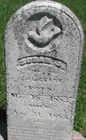CLARK, SUSAN J. - Dixon County, Nebraska | SUSAN J. CLARK - Nebraska Gravestone Photos