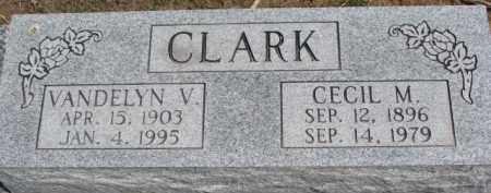 CLARK, CECIL M. - Dixon County, Nebraska   CECIL M. CLARK - Nebraska Gravestone Photos