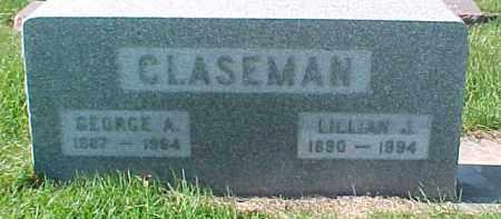 CLASEMAN, GEORGE A. - Dixon County, Nebraska | GEORGE A. CLASEMAN - Nebraska Gravestone Photos