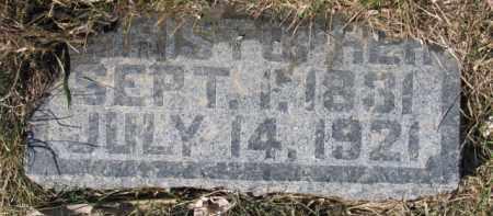 CLEVELAND, CHRISTOPHER - Dixon County, Nebraska | CHRISTOPHER CLEVELAND - Nebraska Gravestone Photos