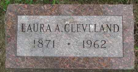 CLEVELAND, LAURA A. - Dixon County, Nebraska   LAURA A. CLEVELAND - Nebraska Gravestone Photos