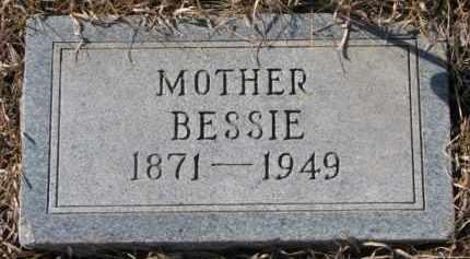CLOUGH, BESSIE - Dixon County, Nebraska   BESSIE CLOUGH - Nebraska Gravestone Photos