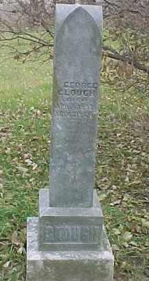 CLOUGH, GEORGE - Dixon County, Nebraska   GEORGE CLOUGH - Nebraska Gravestone Photos
