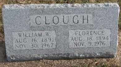 CLOUGH, WILLIAM W. - Dixon County, Nebraska | WILLIAM W. CLOUGH - Nebraska Gravestone Photos