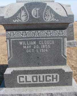 CLOUGH, WILLIAM - Dixon County, Nebraska | WILLIAM CLOUGH - Nebraska Gravestone Photos