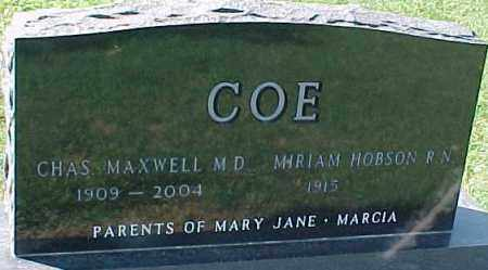 COE, DR., CHARLES MAXWELL - Dixon County, Nebraska | CHARLES MAXWELL COE, DR. - Nebraska Gravestone Photos