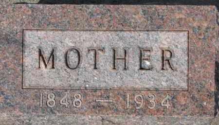 COLBENSON, MOTHER - Dixon County, Nebraska | MOTHER COLBENSON - Nebraska Gravestone Photos