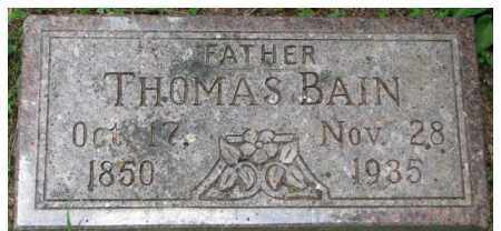 COLWELL, THOMAS BAIN - Dixon County, Nebraska | THOMAS BAIN COLWELL - Nebraska Gravestone Photos