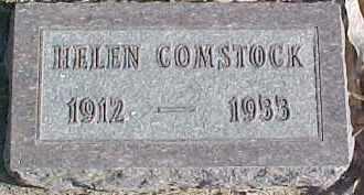 COMSTOCK, HELEN - Dixon County, Nebraska   HELEN COMSTOCK - Nebraska Gravestone Photos