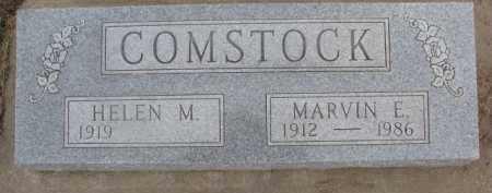 COMSTOCK, MARVIN E. - Dixon County, Nebraska | MARVIN E. COMSTOCK - Nebraska Gravestone Photos