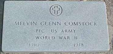 COMSTOCK, MELVIN GLENN - Dixon County, Nebraska | MELVIN GLENN COMSTOCK - Nebraska Gravestone Photos