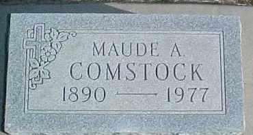 COMSTOCK, MAUDE A. - Dixon County, Nebraska   MAUDE A. COMSTOCK - Nebraska Gravestone Photos