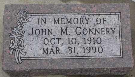 CONNERY, JOHN M. - Dixon County, Nebraska | JOHN M. CONNERY - Nebraska Gravestone Photos