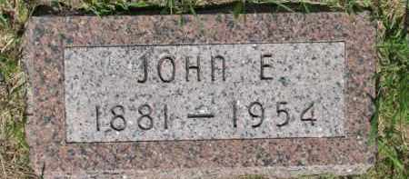CONNERY, JOHN E. - Dixon County, Nebraska | JOHN E. CONNERY - Nebraska Gravestone Photos