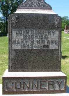 CONNERY, JOHN - Dixon County, Nebraska | JOHN CONNERY - Nebraska Gravestone Photos
