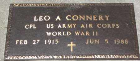 CONNERY, LEO A. (WW II MARKER) - Dixon County, Nebraska | LEO A. (WW II MARKER) CONNERY - Nebraska Gravestone Photos