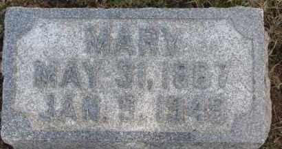CONNORS, MARY - Dixon County, Nebraska | MARY CONNORS - Nebraska Gravestone Photos