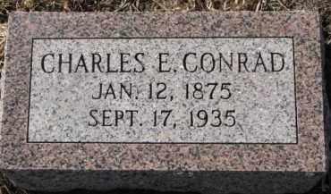 CONRAD, CHARLES E. - Dixon County, Nebraska | CHARLES E. CONRAD - Nebraska Gravestone Photos