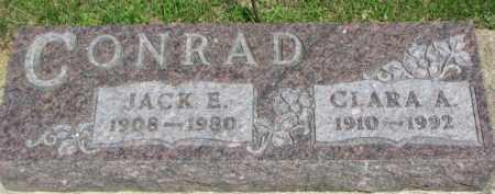 CONRAD, CLARA A. - Dixon County, Nebraska   CLARA A. CONRAD - Nebraska Gravestone Photos